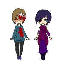 Corpse Party Adoptables by RessurectedNightmare