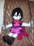 Mikasa Ackerman plush doll WIP by Ubermidget