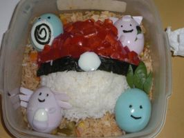 pokemon bento by kureinai