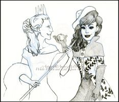 Two Queens that... by Aspendragon