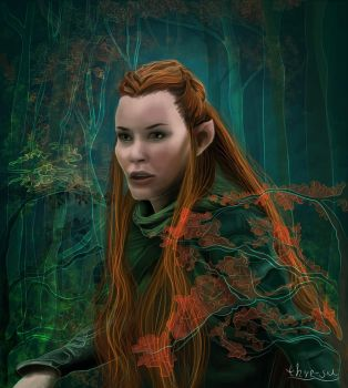 Tauriel by thire-sia
