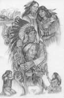 The Circle Of Life- Sioux Tribe by HarttoHeart