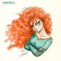 Angry Merida by ariartna