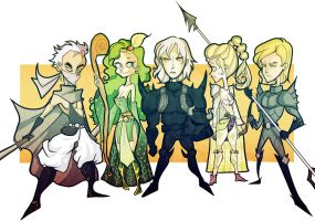ffiv - group -color- by spoonybards