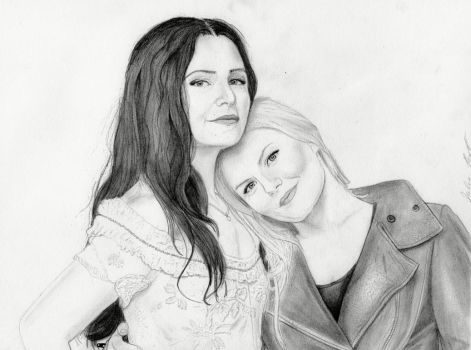 Snow and Emma- Once Upon a Time by julesrizz