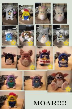 Kasaras Furby Collection 2 by KasaraWolf