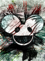 deadmau5 bored. by adventgfx