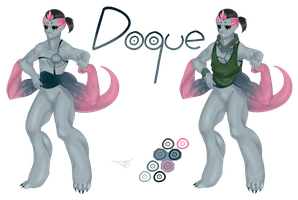 [OC] Doque by Rosellaz
