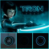 TRON Legacy Identity Disc by DecanAndersen