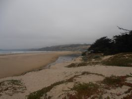 Overcast Beach Panorama Far Right by TAHU18