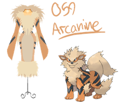 Pokedresses - 59 - Arcanine by AK-Manga