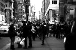 Streets of Manhattan 06 BW by Ghost2867