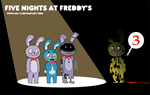 Five Nights at Freddy's 3 by Ani-12