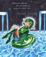im.only.sleeping by Demyrie