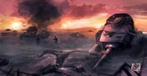 Battle of Kursk by breaker213