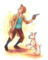 Tintin by unconventionalhill