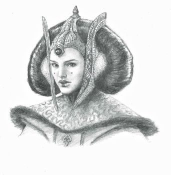 Queen Amidala by NorthernL1ght