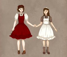 Romantic Girls by Ninelyn