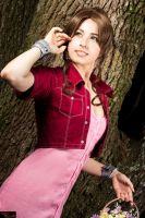 Aerith ffvii by BloodyCoffee