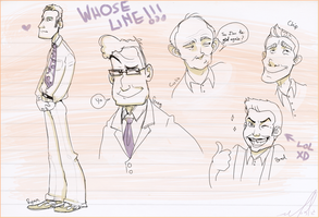 Whose Line Doodles by gilll