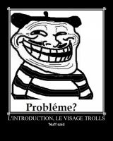 face a Troll demotivational by Stickbomber