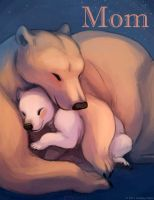 Mother's Day Bear Snugglys by LCibos