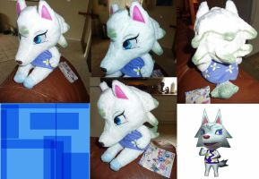Animal Crossing Whitney/Bianca Plush by JamJams