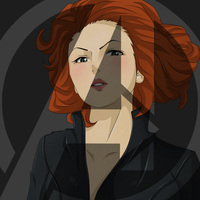 Avengers: Black Widow by darthfilart