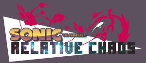 Sonic the Hedgehog Relative Chaos Logo by A-R-Q