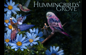 Hummingbirds' Grove by CarmanMM-Dirda