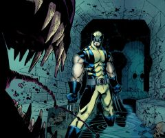 Wolverine sewer by SpicerColor