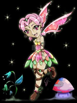 Lilliaura The Flower Fairy by SweeT-GaL