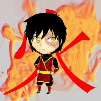 Art Trade: Zuko Chibi by MevAsumare