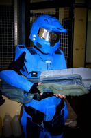 Spartan halo cosplay by SofiJunkhead