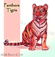 Panthera tigris by Windshade888