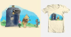 Winnie the Who Tee by Gr8Gonzo