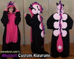 Ahuizotl Custom Kigurumi! by lemonbrat