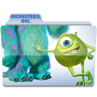Monsters Inc folder icon by LukeDonegan