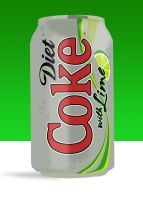 Diet Coke with Lime by bhound89