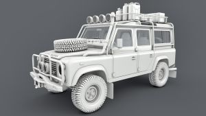 Land Rover Defender Expedition by SamCurry