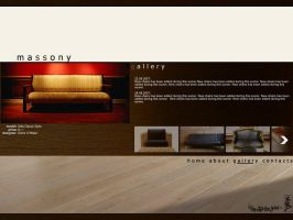 Massony website design by DesignersJunior