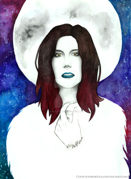 Charlotte Wessels - Lunar Prelude by CountessMorticia