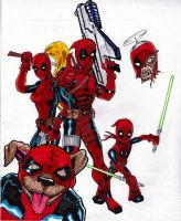 DEADPOOL  CORPS by gagex07
