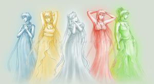 Inner Princesses by puppetka