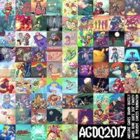 AGDQ 2017 - Awesome Games Drawn Quickly by AndrewDickman
