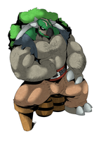 Big guy colored by Pokemon-Diamond