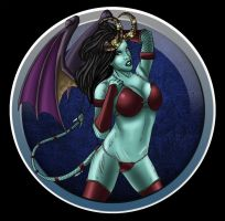 Heather Moss Succubus by DarkstreamStudios