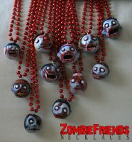 ZombieFriends Necklaces by maddartist83