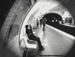 L'attente by Zapthom