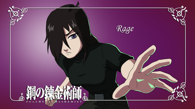 FMA OC sheet: Rage by Riiko96